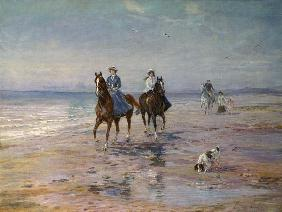 Hardy, Heywood : A Ride on the Beach, Dubli...