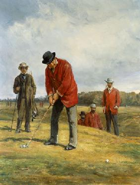 Hardy, Heywood : George Glennie Putting at ...