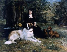 Hardy, Heywood : Girl With Dog