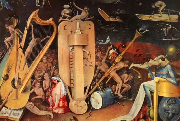 Garden of Earthly Delights Hieronymus Bosch as art print or hand