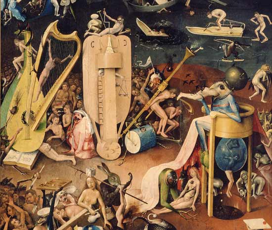 The Garden Of Earthly Delights Hell De Hieronymus
