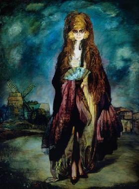 Portrait of the Marquesa Casati