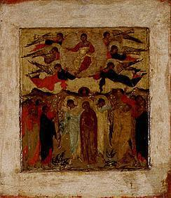 Ikone (russisch) : The Ascension Day Christi.