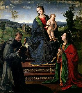 Madonna and Child with St. Francis of Assisi and St. Mary Magdalene
