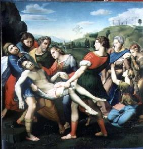 The Entombment, after a Painting by Raphael (1483-1520) in the Villa Borghese, Rome