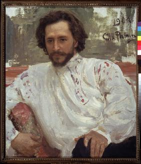Portrait of the author Leonid Andreyev (1871-1919)