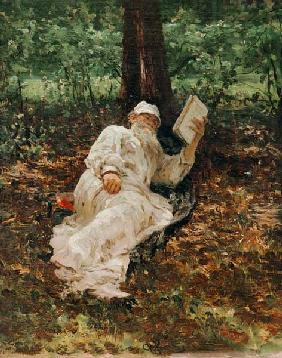 Leo Tolstoy / Painting by Repin