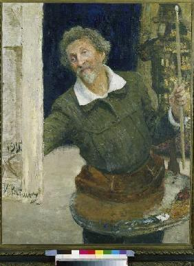 Repin, Ilja Efimowitsch : Self-portrait