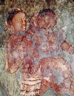 A Princely Couple from the interior of Cave 1