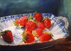 Kuhn, Ingeborg : Strawberries into porcelai...