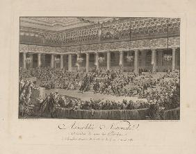 The Night of August 4, 1789 in the National Assembly