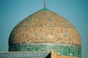 The dome of the Masjid-i-Sheikh Lutfallah