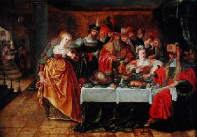 Italian pictural school : The Feast of Herod