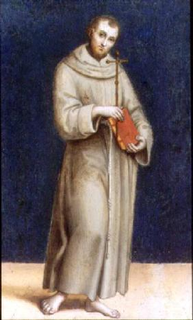 Figure of a Franciscan Monk