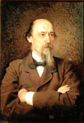 Portrait of Nikolay Alekseyevich Nekrasov