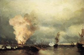 The Battle of Vyborg Bay on July 3, 1790