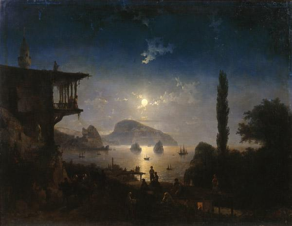 Moonlit Night on the Crimea, Gurzuf