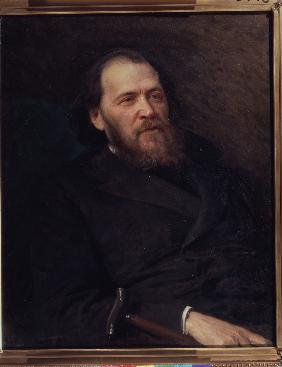Kramskoi, Iwan Nikolajewitsch : Portrait of the poet Yakov...