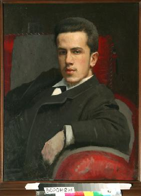 Portrait of Anatoly Kramskoy, the Artist's Son