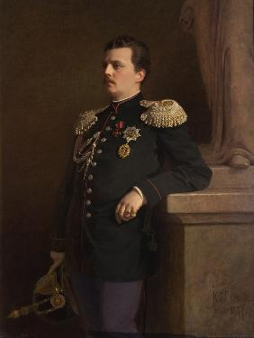 Portrait of Grand Duke Vladimir Alexandrovich of Russia (1847-1909)