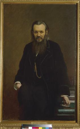 Portrait of the publisher and journalist Aleksey Suvorin (1834-1912)