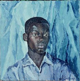 Etienne, Haiti, 1962 (oil on board)