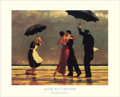 the singing butler jack vettriano as art print or hand. Black Bedroom Furniture Sets. Home Design Ideas