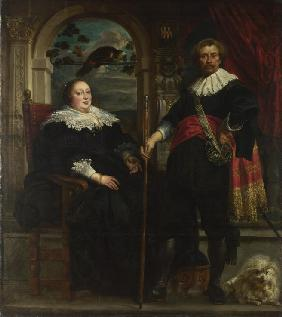 Portrait of Govaert van Surpele and his Wife