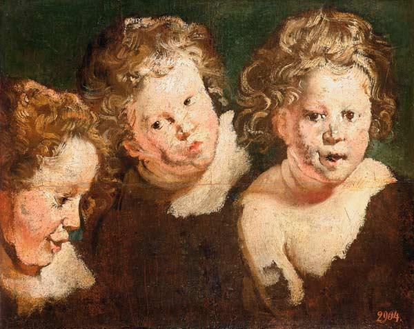 Three Childrens Heads