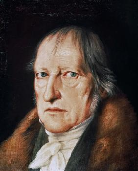 Portrait of Georg Wilhelm Friedrich Hegel (1770-1831)