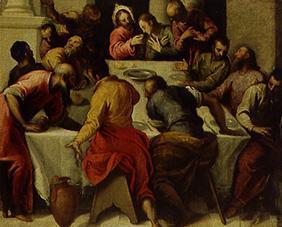 Palma il Giovane, Jacopo : The last Holy Communion.