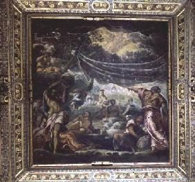 The Fall of Manna (ceiling painting)