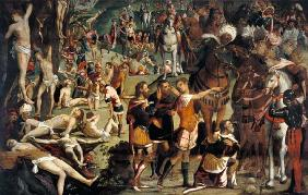 Tintoretto / Martyrdom of Ten Thousand