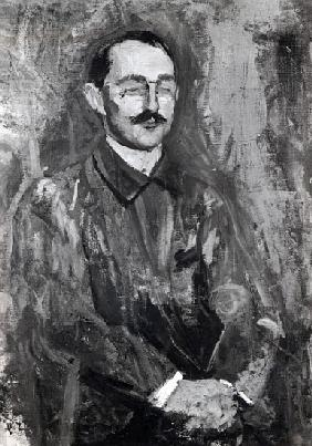 Portrait of Albert Marquet