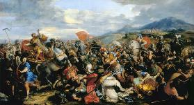 The Battle of Gaugamela in 331 BC
