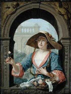 Portrait of the Mistress of the Artist M.C. Cremers