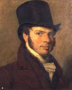 Portrait of a Young Man in a Top Hat