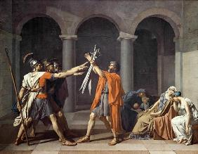 Oath of the Horatii 1784