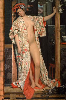 J.Tissot, Japanese Lady in the bath