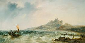 Carmichael, James Wilson : Bamburgh Castle