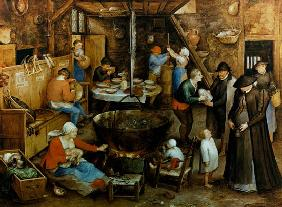 Brueghel d. �., Jan : The distinguished visit in...