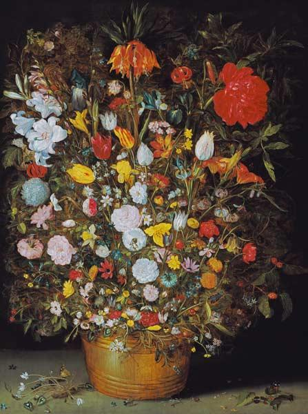 Jan Brueghel the Elder,Flower Still Life