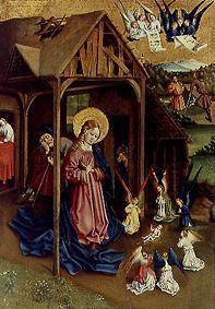 Koerbecke, Jan : Maria and adoring angels, ...