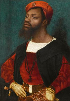 Portrait of an African man