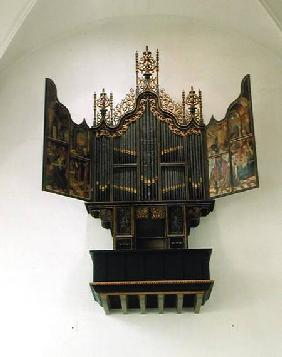 Painted organ