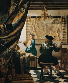 Vermeer van Delft, Jan : The Allegory of Painting