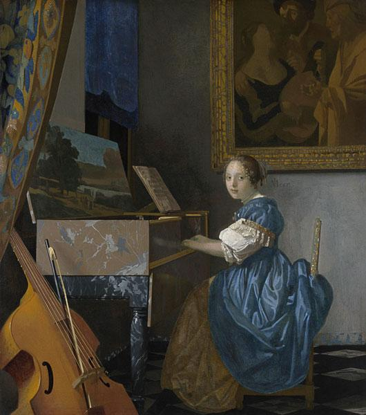 Young Lady Seated at Virginal
