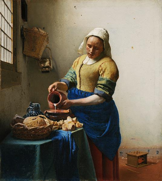 The Milkmaid 1658