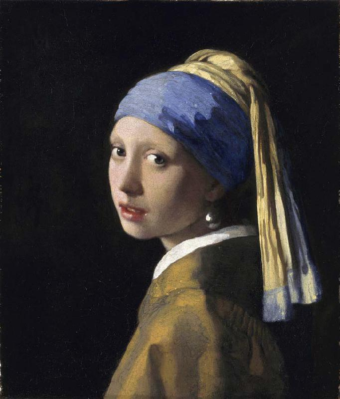 Girl with a pearl earring (restored version 1994)
