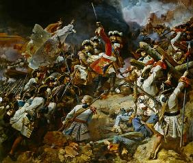 Battle of Denain, 24th July 1712